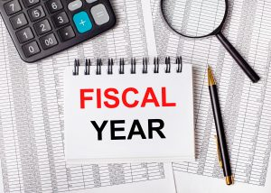 Fiscal new year