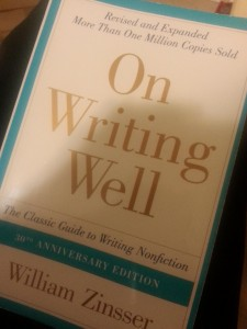 William Zinsser's On Writing Well